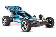 Traxxas Bandit XL-5 TQ (no battery/charger), Blue, TRX24054-4B