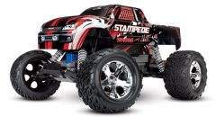 Traxxas Stampede XL-5 TQ (incl battery/charger), Red, TRX36054-1R