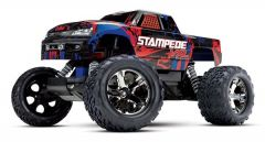Traxxas Stampede VXL TQi TSM (no battery/charger), Red, TRX36076-4R