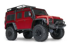 Traxxas Land Rover Defender Crawler Red