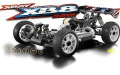 XRAY XB8 - 2018 SPECS - 1/8 LUXURY NITRO OFF-ROAD CAR, #X350013