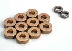 Oilite bushing set: 5x11x4mm (10), 5x8x2.5mm (2), TRX1243