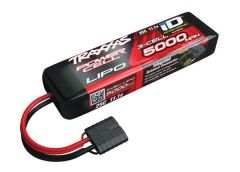 Power Cell LiPo 5000mAh 11.1V 3S 25C ,ID Summit, E-Revo Sl, TRX2872X
