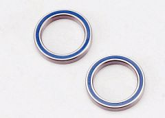 Ball bearings, blue rubber sealed (20x27x4mm) (2), TRX5182