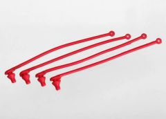 Body clip retainer, red (4), TRX5752