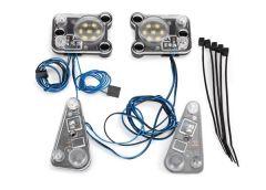 LED headlight/tail light kit (fits #8011 body, req. #8028 PS, TRX8027