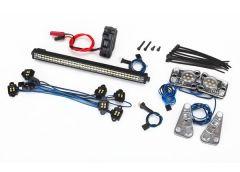 LED light set, complete (contains rock light kit, LED lightb, TRX8030