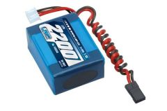 LRP VTEC LiPo 2200 RX-Pack small Hump - RX-only - 7.4V, 430350