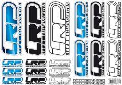 Sticker Sheet LRP Logo DIN A4, 62415