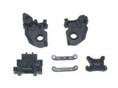 Gear case + suspension mount, YEL12005