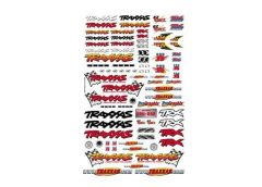Official Traxxas Decals (6-Col, TRX9950