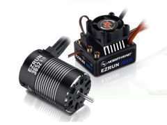 Hobbywing EzRun Combo MAX10 3652SL, 3300kv, 1/10 Waterproof, HW38010203