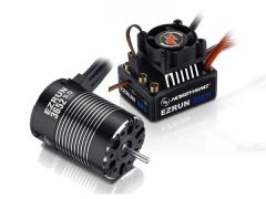 Hobbywing EzRun Combo MAX10 3652SL, 5400kv, 1/10 Waterproof, HW38010205