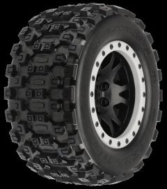 Badlands MX43 Pro-Loc All Terrain Tires (2) Mounted on Impul, PR10131-13