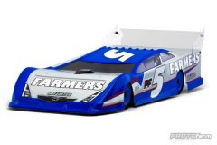 Nor'easter Clear Body for Dirt Oval Late Model