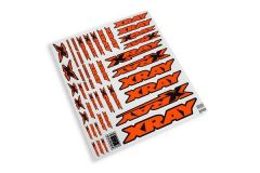 Xray Sticker For Body Neon Orange, X397316