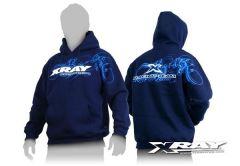 Xray Sweater Hooded - Blue (XL), X395500XL