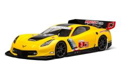 Chevrolet Corvette C7.R Clear Body for 1:8 GT (Long)