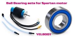 YellowRC Bearings for Spartan Motor 5X11X4mm, Stainless Steal, 2 pieces