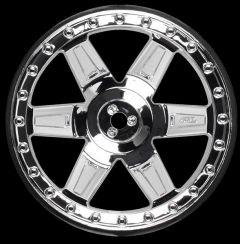 """Desperado 2.8 (Traxxas"""" Style Bead) Chrome Rear Wheels (2, PR2730-01"""
