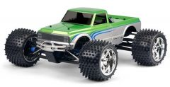 1972 Chevy C-10 Long Bed Clear Body for 1:8 MT