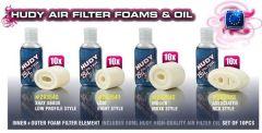 AIR FILTER FOAM & OIL - XRAY XB808 LOW PROFILE (10), H293540