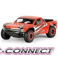 Chevy Silverado 1500 Clear Body for SC
