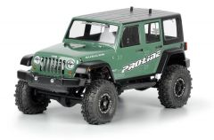 "Jeep Wrangler Unlimited Rubicon Clr Body 12.3"" Crawlers"