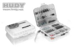 Hudy Plastic Box, double sided - compact, H298011