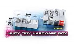 HUDY TINY HARDWARE BOX - 4-COMPARTMENTS, H298016