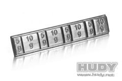 Hudy Lead Weights 4x5g and 4x 10g, H293080