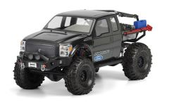 """Ford F-250 Super Duty Clear Body for SCX10 Honcho 12.3"""""""