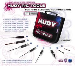 Set Of Tools + Carrying Bag - For Electric Touring Cars, H190001