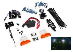 LED light set, complete with power supply (contains headlights, tail lights, si