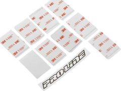 Pro-Line Double Sided Clear Mounting Tape (10pk)