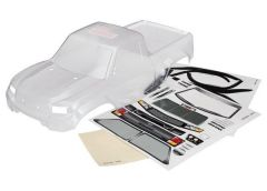 Body, TRX-4 Sport (clear, trimmed, die-cut for LED light kit, requires painting), TRX8111R