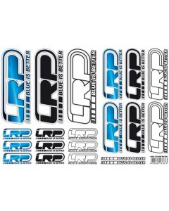 Sticker Sheet LRP Logo DIN A4, 62415