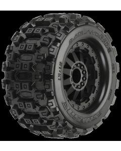 "Badlands MX28 2.8"" MTD F-11 Black (2) Elect F/4x4 F/R"