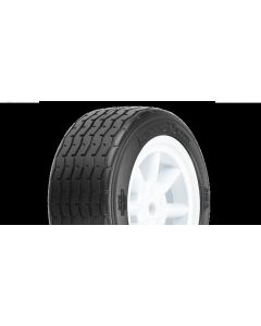 PF VTA Front Tires (26mm) MTD on White Wheels