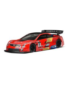 Cadillac ATS-V.R Clear Body for 200mm Pan Car & TC