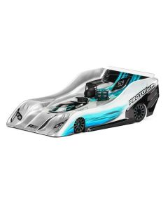 R19 Light Weight Clear Body for 1:8 On-Road