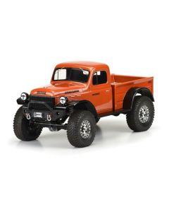 "1946 Dodge Power Wagon Clr Bdy 12.3"" Crawlers"