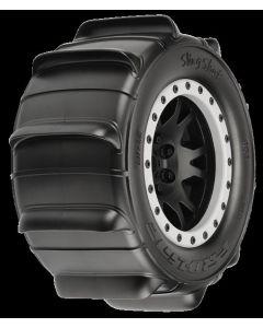 """Sling Shot 4.3"""" X-MAXX MTD Impulse Black/Gray F/R"""