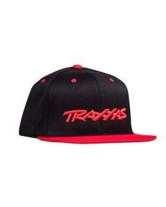 Snap Hat Flat Bill Black/Red