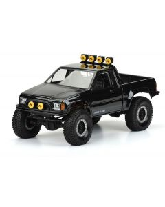 """85 Toyota HiLux Clear Body (Cab/Bed) SCX10 Honcho 12.3"""""""