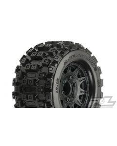 "Badlands MX28 2.8"" MTD Raid Black 6x30 F/R"