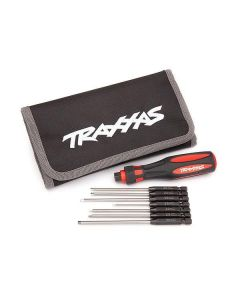 Traxxas Speed Bit Master Set, hex driver, 7-piece straight and ball end, include, TRX8711